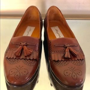 Mezlan Cozumel Weave Tassel Men's Brown Shoes 8.5M